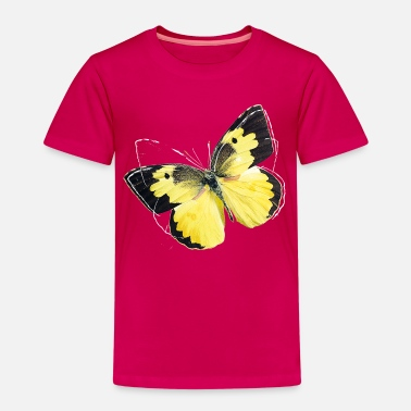 Frühling Animal Planet Schmetterling Goldene Acht - Kinder Premium T-Shirt