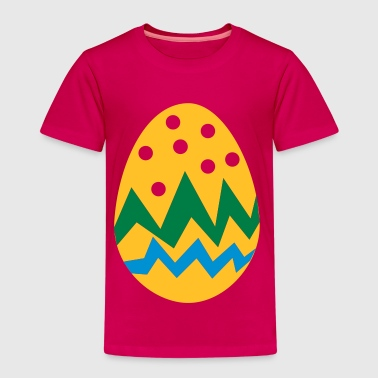 Oster Ei - Frohe Ostern - Kinder Premium T-Shirt
