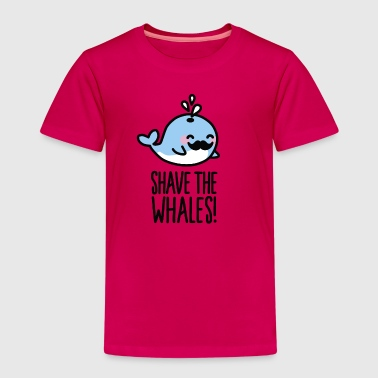Shave Shave the whales! - Kinderen Premium T-shirt