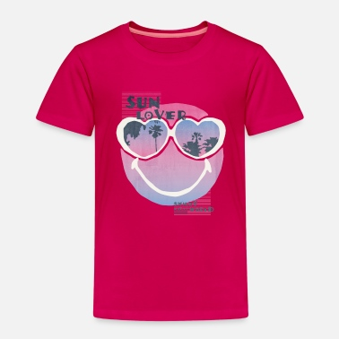 Emoticon SmileyWorld 'Sun Lover' teenager t-shirt - Maglietta Premium per bambini
