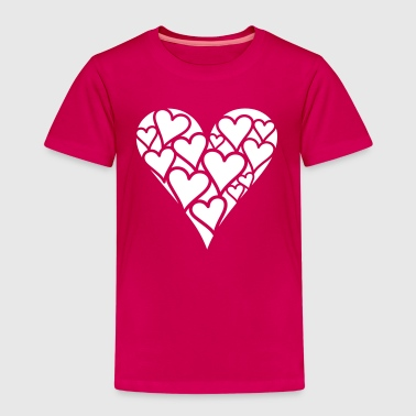 Heart of Hearts - Kids' Premium T-Shirt