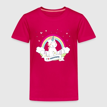 Cute Unicorn - Premium T-skjorte for barn