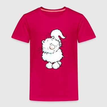 Snow - Cat - Persian - Persian Cats - Kids' Premium T-Shirt