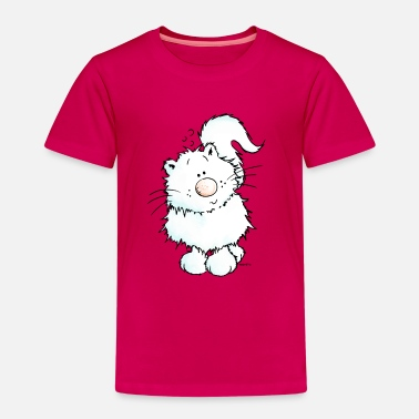 Persian Cat Snow - Cat - Persian - Persian Cats - Kids' Premium T-Shirt