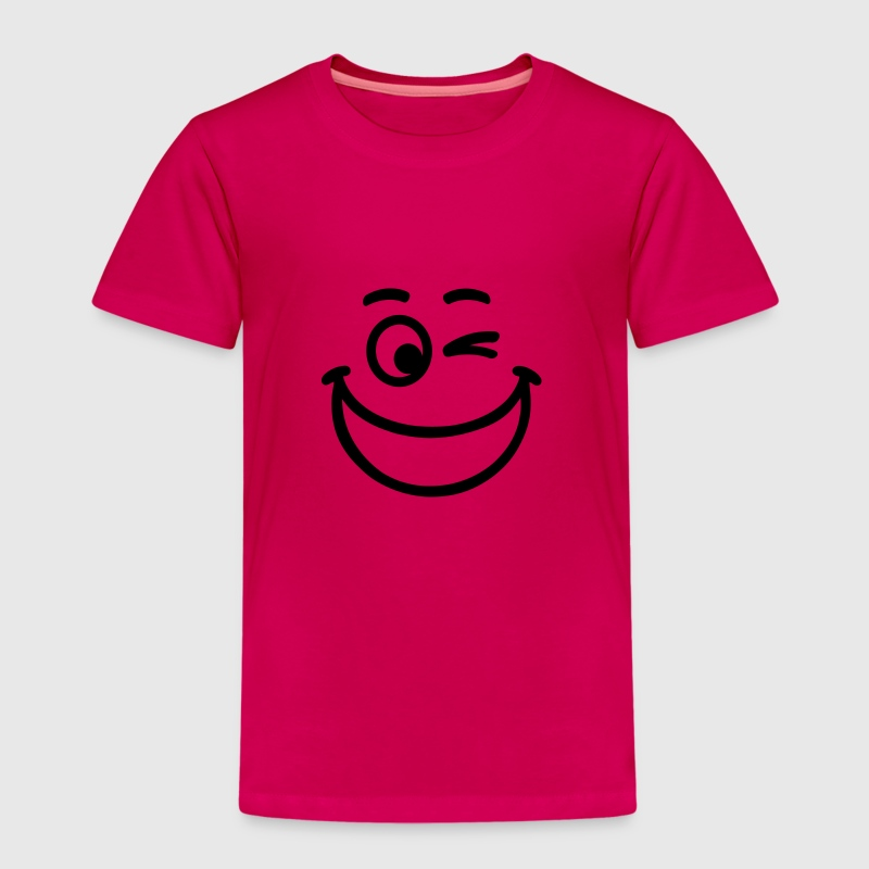 Smiley - Kinder Premium T-Shirt