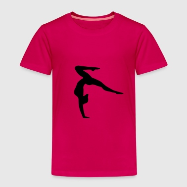 Turnerin - Handstand, Turnen - Kinder Premium T-Shirt