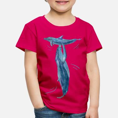 Wale/whales Version 4 - Kids' Premium T-Shirt