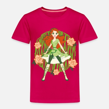 Poison Ivy DC Super Hero Girls Poison Ivy Roses - T-shirt Premium Enfant