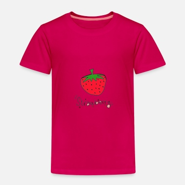 Strawberry Carly ° Line - Kids' Premium T-Shirt
