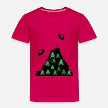 Ufos on the Mountain - Kinder Premium T-Shirt