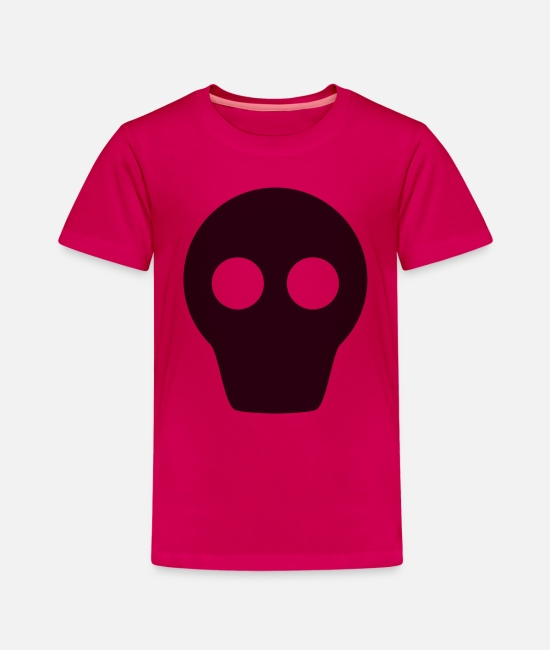 Pirate T-Shirts - Skull Skull Pirate - Kids' Premium T-Shirt dark pink