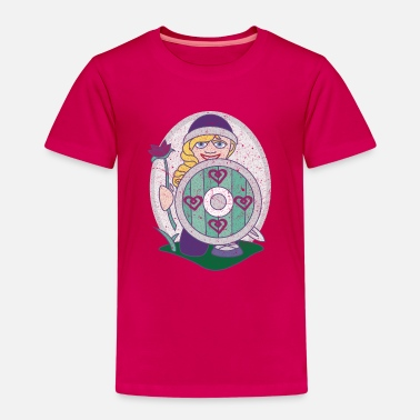 Linn Fille Viking Linn Friendly - T-shirt premium Enfant
