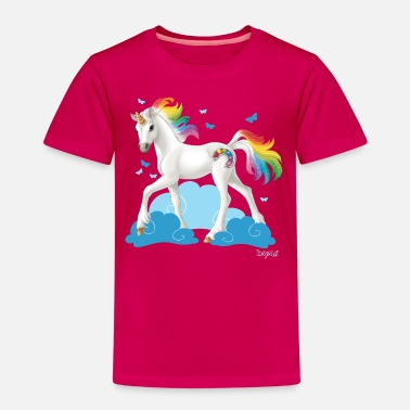 Unicorn Schleich Bayala rainbow unicorn - Kids' Premium T-Shirt