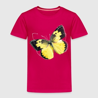 Animal Planet Colourful Butterfly And Lineart - Kids' Premium T-Shirt