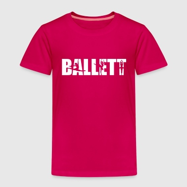 Ballett - Kinder Premium T-Shirt