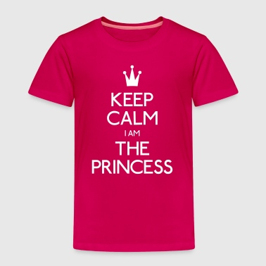 keep calm i am the princess - Kids' Premium T-Shirt