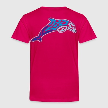 animals: tribal-dolphin - T-shirt Premium Enfant