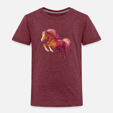 Pony Cory the pony - Kids' Premium T-Shirt