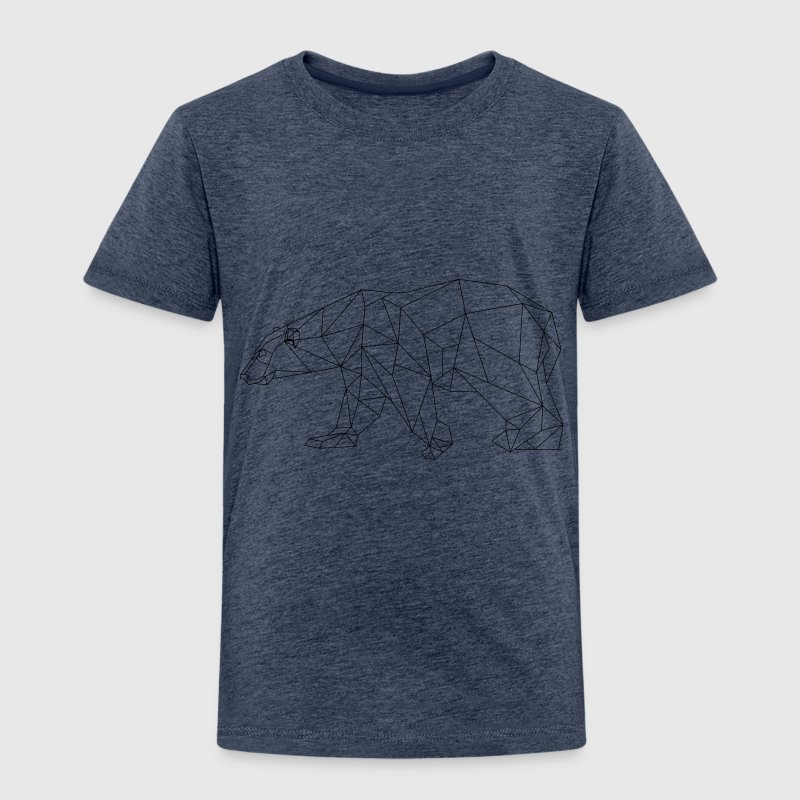 Polygon Eisbär - Kinder Premium T-Shirt