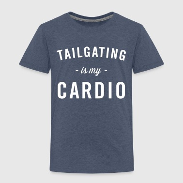 Tailgating is my Cardio - Kids' Premium T-Shirt