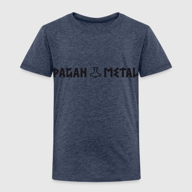 Pagan Metal with Thor's Hammer - Kids' Premium T-Shirt