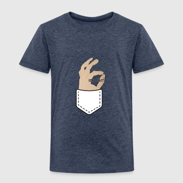 Looked in! out of pocket - Kids' Premium T-Shirt