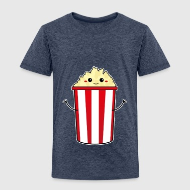 popcorn-kawaii - Kids' Premium T-Shirt
