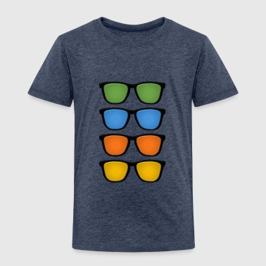 Different Colour Different shades - Kids' Premium T-Shirt
