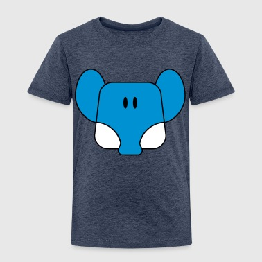 comic  elefant - Kinder Premium T-Shirt