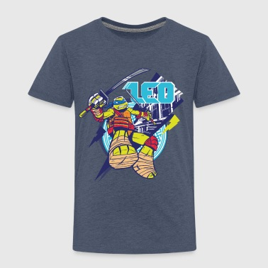 TMNT Turtles Leo Greift An - Kinder Premium T-Shirt