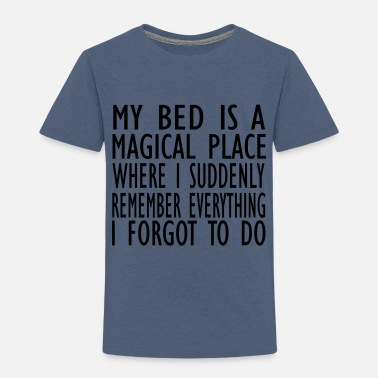 Place Of Residence magical place - Kids' Premium T-Shirt