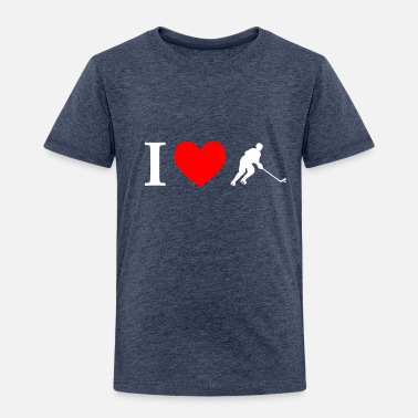 e987d96b57e I Love Hockey I love hockey - Kids  39  Premium T-Shirt