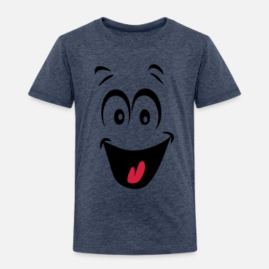 20e9258a90a72 smiley joyeux humeur1 T-shirt bio Enfant