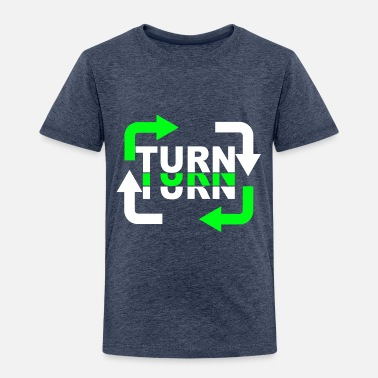 Turn Turn Turn Turn Arrows - Kids' Premium T-Shirt
