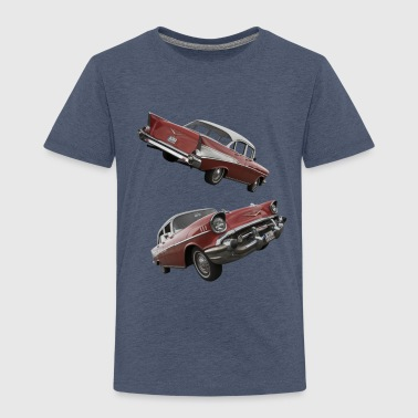 Bel Air 1957 Double  - Kinder Premium T-Shirt
