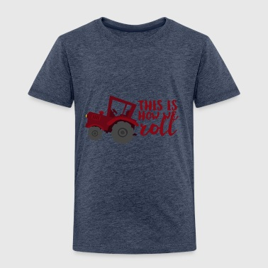 Farmer / Farmer / Farmer: This is how we roll - Kids' Premium T-Shirt
