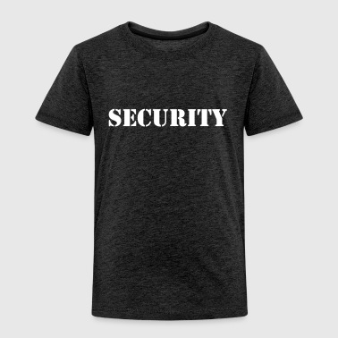 Security - Camiseta premium niño