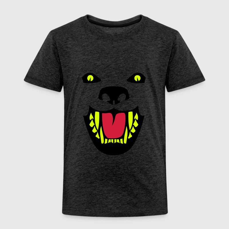 Fierce dog open mouth 112 - Kids' Premium T-Shirt
