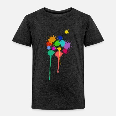 Paint, paint stains, paintball - Kids' Premium T-Shirt