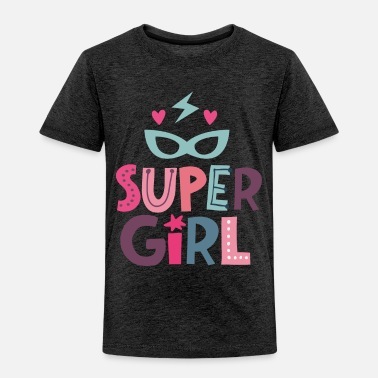 First Day Of School Super Girl - strong girls - Kids' Premium T-Shirt