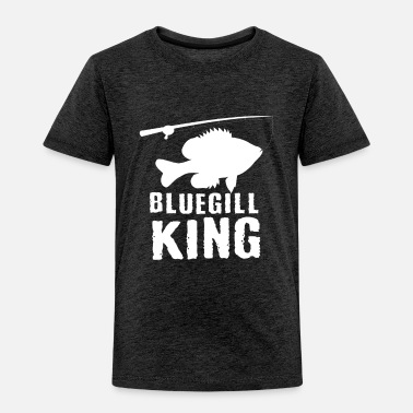 Game Funny Bluegill Brim Fishing Freshwater Fish Gift - Kids' Premium T-Shirt