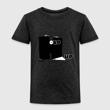 Enillo Hold Up Grafik & Typographie - Kinder Premium T-Shirt