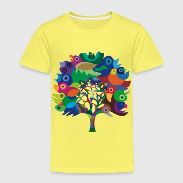 Overbirded Tree - Kids' Premium T-Shirt