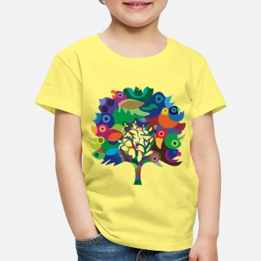 Collection For Kids Overbirded Tree - Camiseta premium niño