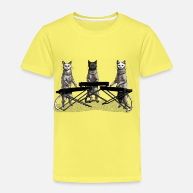 Band Cat Band - Kids' Premium T-Shirt