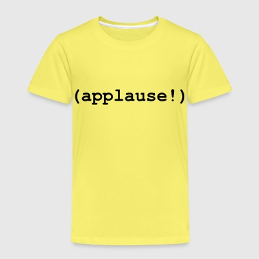 applause - Kinderen Premium T-shirt