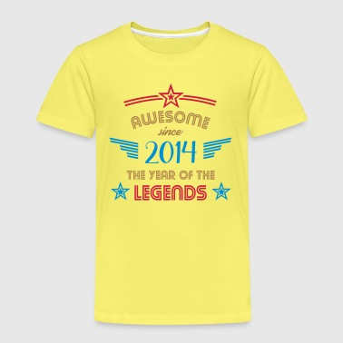 Awesome Since Awesome since 2014 - Kinder Premium T-Shirt