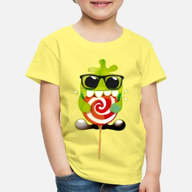Collections Lolling monster - Børne premium T-shirt