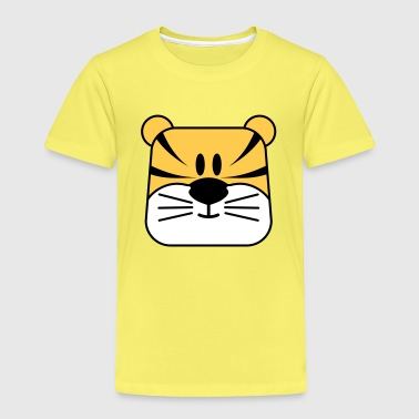 comic tiger - Kinder Premium T-Shirt