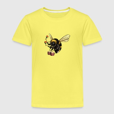 Bumble Bee Beat - Kinder Premium T-Shirt